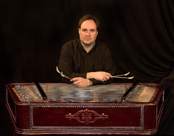Cimbalom player Richard Moore